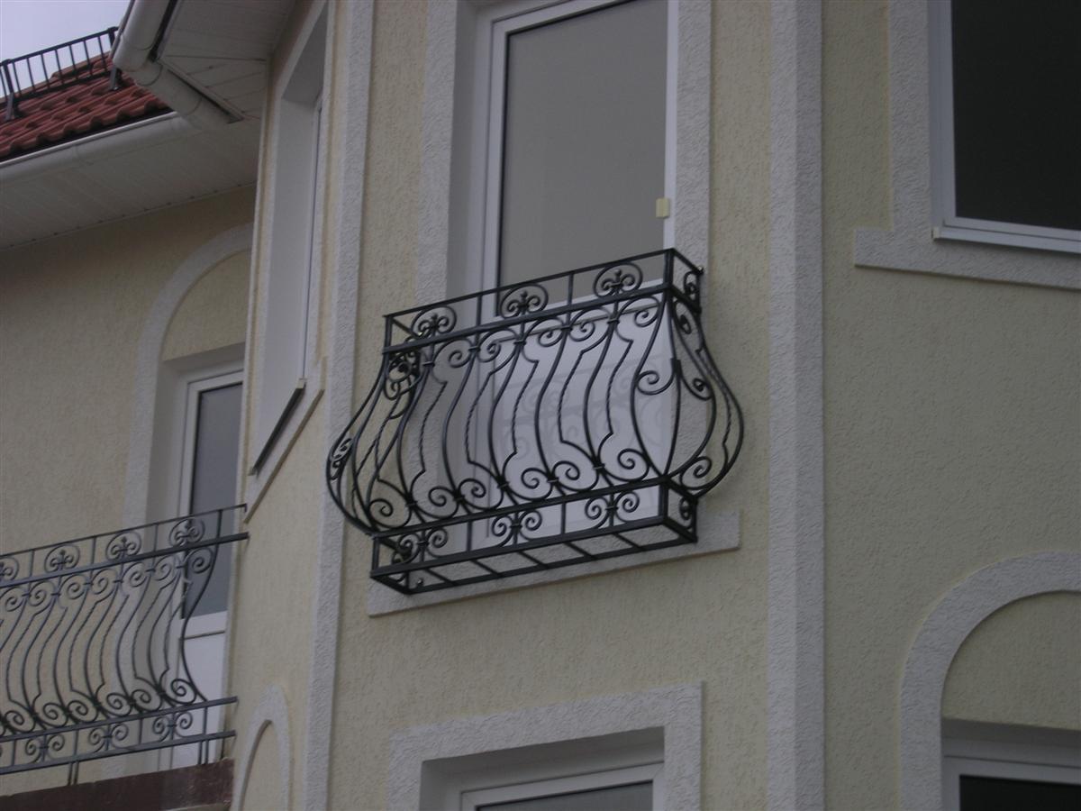 Французские балкончики. - галерея работ балконов под ключ - .
